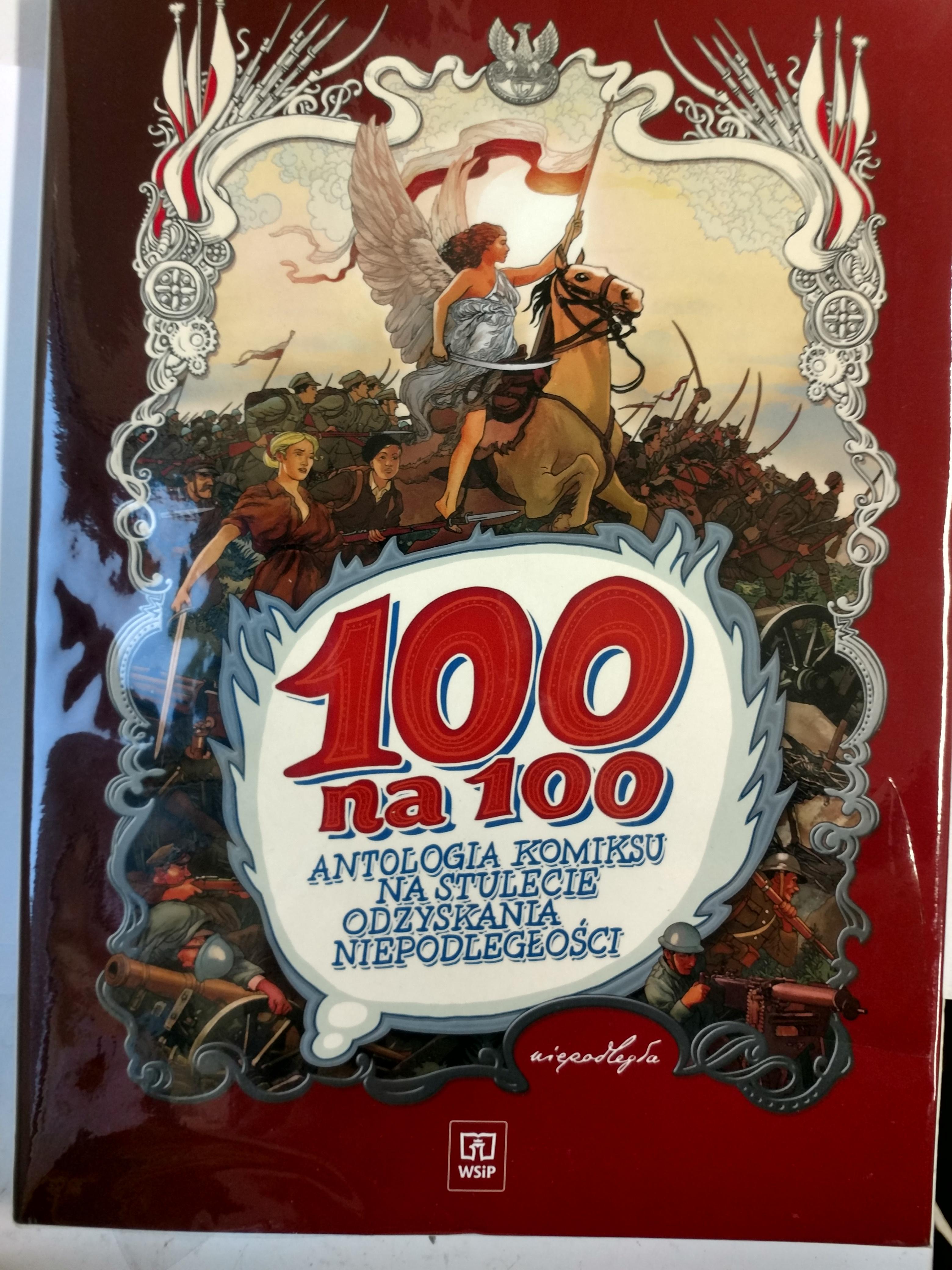 100 na 100 Antologia komiksu - Autorzy Różni